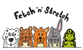 Fetch 'n' Stretch pet services including dog walking